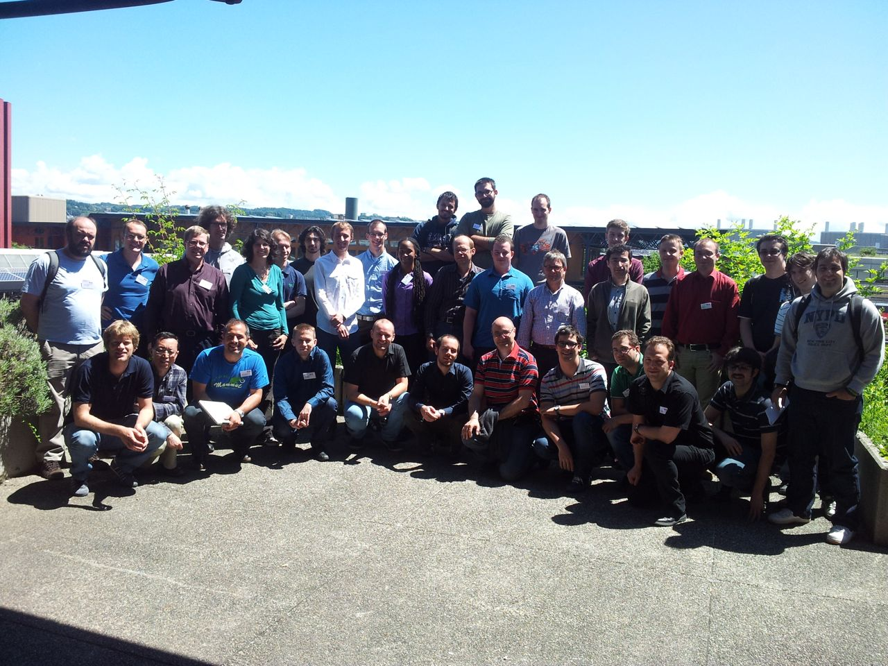 Photo of EuroTUG 2012 participants